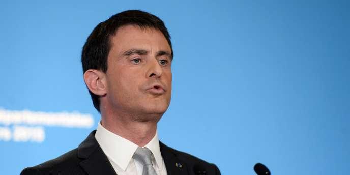 Manuel Valls, le 22 mars 2015 à Paris.