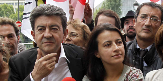Jean-Luc Mélenchon et Cécile Duflot ont porté cette alliance entre le Front de gauche et Europe Ecologie-Les Verts. Ils étaient déjà réuni en 2010 lors d'une manifestation contre la réforme des retraites à Paris.