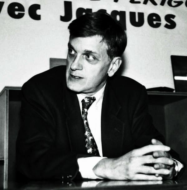 Frédéric de Saint-Sernin le 21 mai 2002. Il vient d'être nommé chargé de mission du président de la République Jacques Chirac.