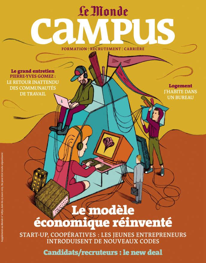 Semestriel Le Monde-Campus, mars 2015.