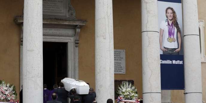 Les obsèques de Camille Muffat ont eu lieu mercredi à Nice.