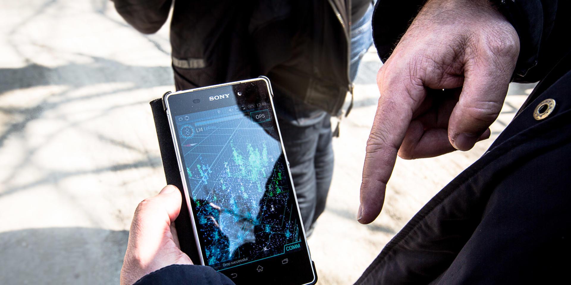 «Ingress» est disponible sur Android et, depuis l'an dernier, sur iOS.