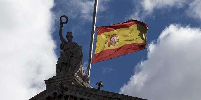 A Madrid, le 25 mars.