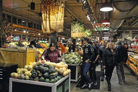 Reading Terminal Market, le marché central de Philadelphie.