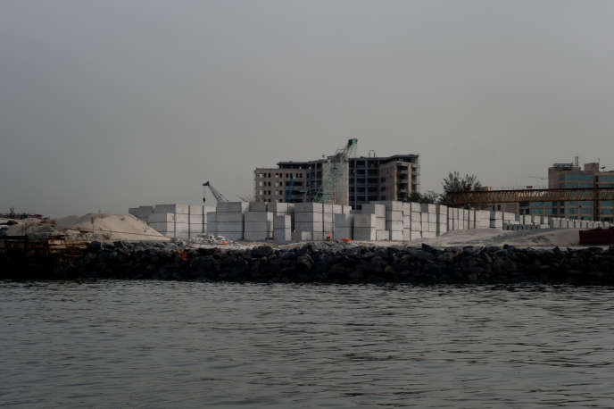 A Libreville, le chantier de