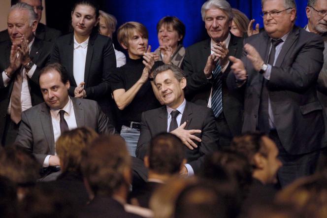 Nicolas Sarkozy à Perpignan, le 26 mars.