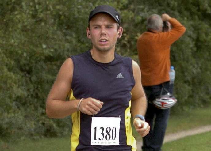 Andreas Lubitz, le 13 septembre2009.
