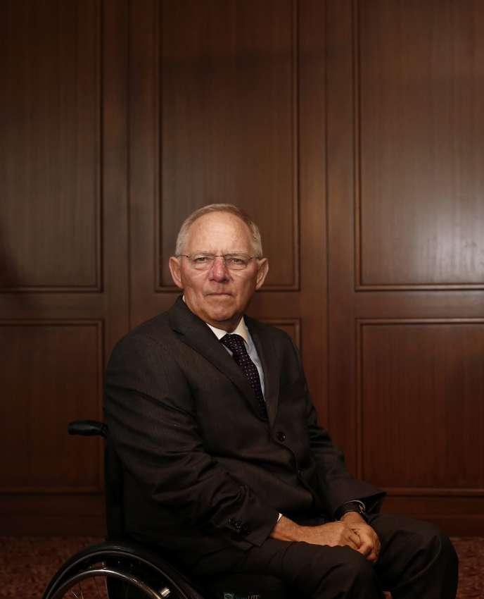 Le ministre allemand des finances Wolfgang Schäuble.