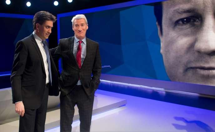 Ed Miliband sur le plateau de l'émission