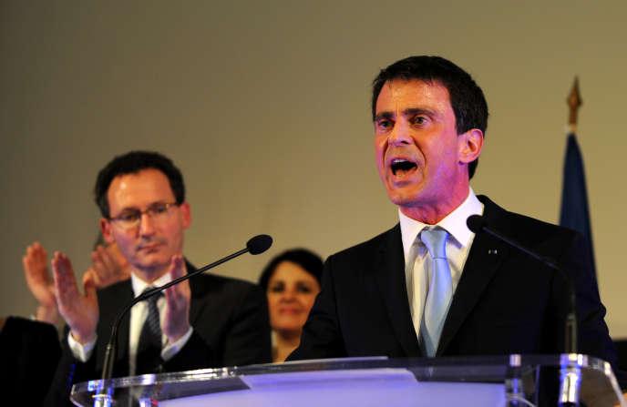 Manuel Valls à Tours, le 26 mars.