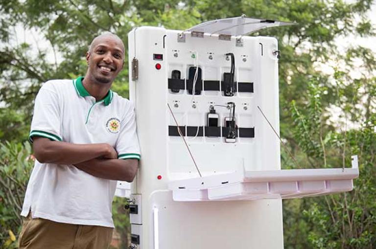 Ared, des kiosques mobiles pour connecter la population.