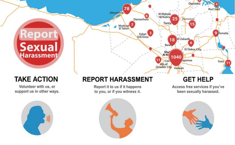 Harass Map permet de centraliser numériquement le plus d'informations possibles sur les agressions et les rendre publiques.