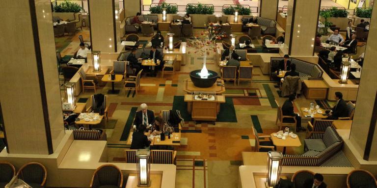 L'Imperial Hotel, à Tokyo.
