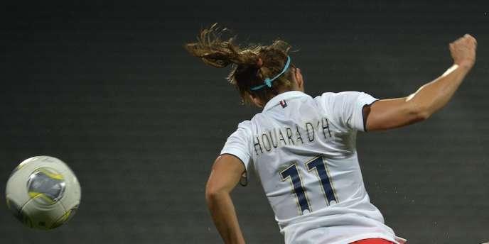 La joueuse du PSG Jessica Houara, le 12 novembre 2014.