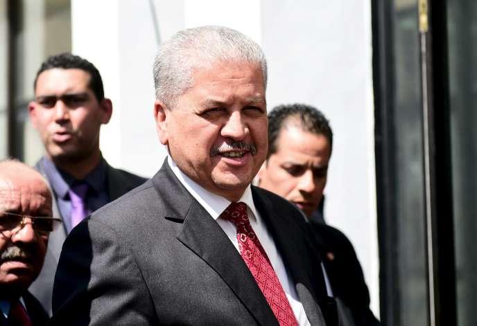Abdelmalek Sellal, le premier ministre algérien.