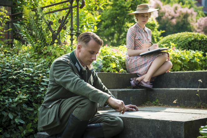 Matthias Schoenaerts et Michelle Williams dans le film britannique, français et belge de Saul Dibb,