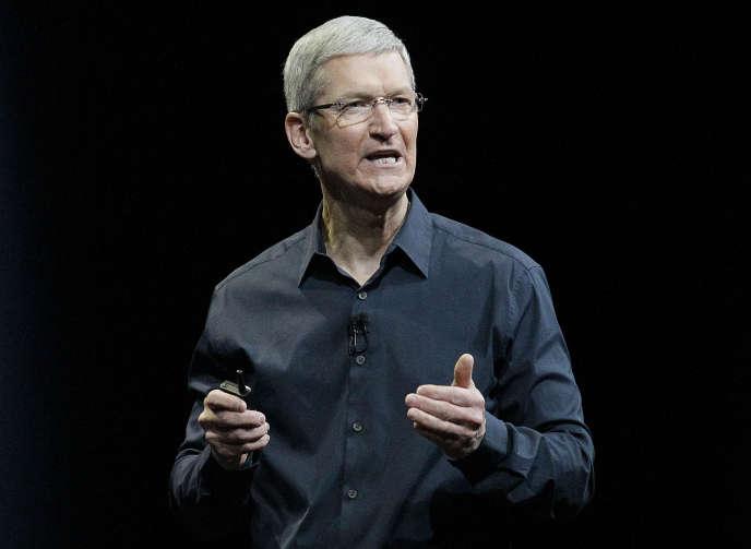 Tim Cook, PDG d'Apple.