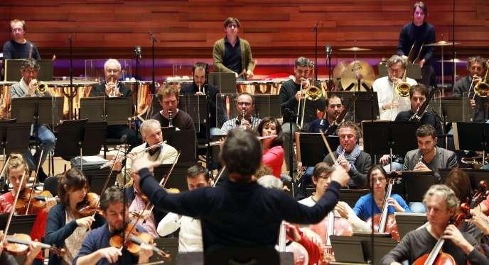 L'orchestre philharmonique de Radio France en novembre 2014.