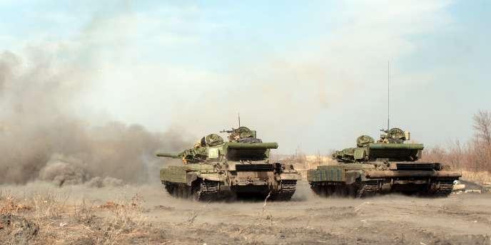 Après l'entraînement, des manœuvres conjointes seront organisées qui risquent de provoquer la colère de la Russie, qui accuse les Américains d'avoir été à l'oirigine de la contestation de Maïdan.