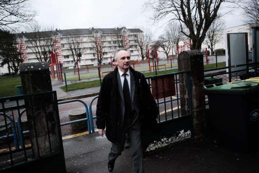 Franck Briffaut (FN) a été élu à la tête de Villers-Cotterêts (Aisne) en mars 2014.