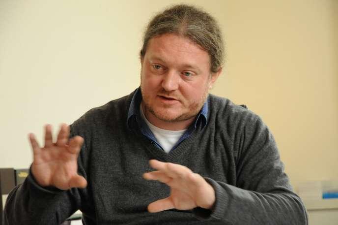 Olivier Voinnet, en 2013.