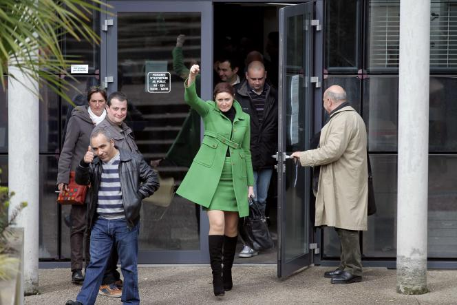 Le tribunal de commerce de Coutances a validé mardi deux offres de reprise partielle sur les abattoirs industriels de la Mande, ce qui sauve 276 emplois sur 590, a annoncé l'avocate des salariés (photo).