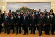 Le président Xi Jinping et des membres fondateurs de l'AIIB, à Pékin, le 24 octobre 2014.