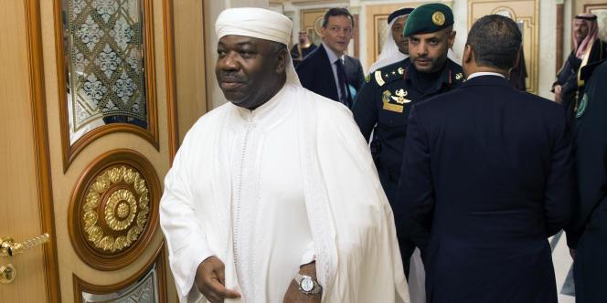 Le président gabonais Ali Bongo, à Riyad (Arabie saoudite), le 24 janvier 2015.