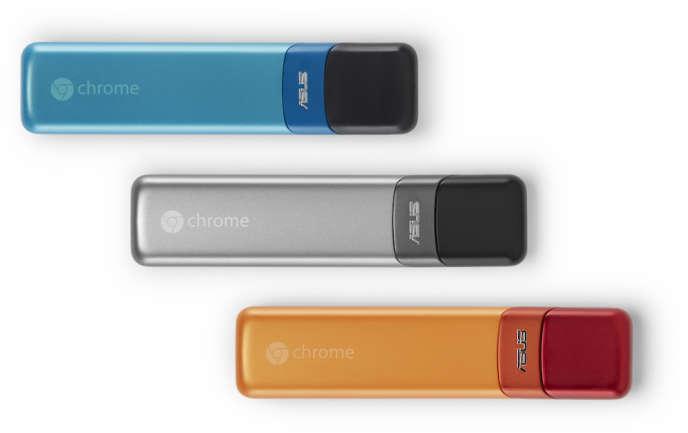 Chromebit est une clé contenant le système d'exploitation Chrome OS.