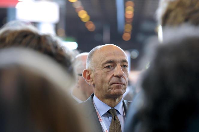 Jean-Marc Janaillac, PDG de Transdev, en juin 2014.