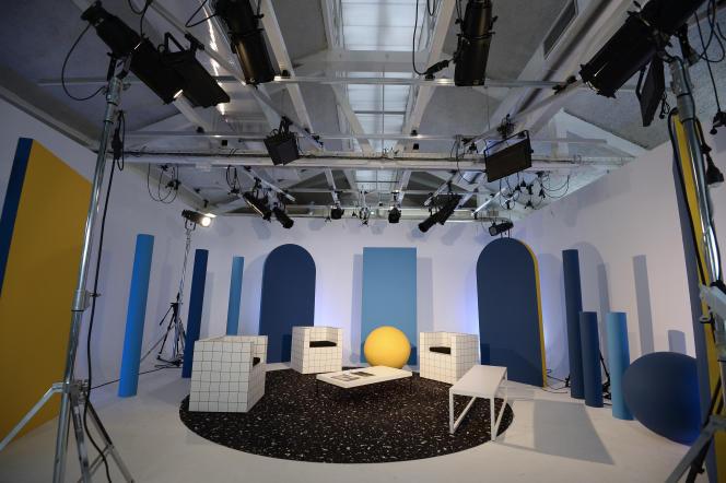 Un des studios de Dailymotion, à Paris.