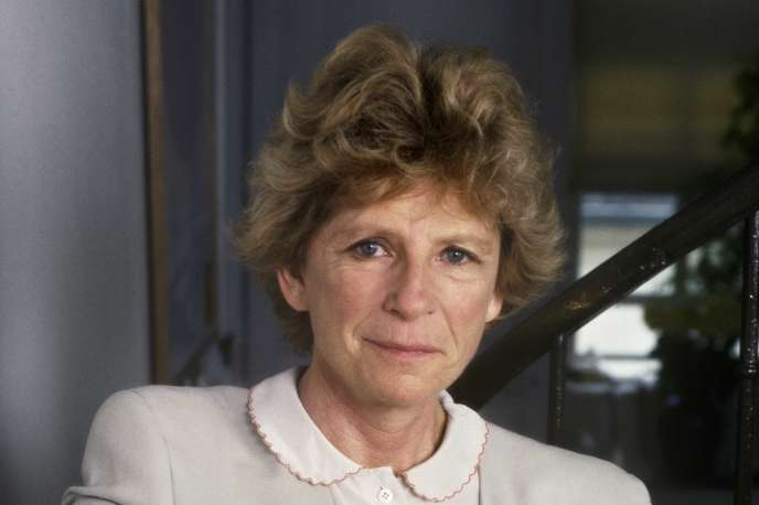 Michèle Manceaux, en 1988.