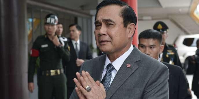 Le chef de la junte militaire au pouvoir en Thaïlande, Prayuth Chan-ocha, le 18 septembre à Bangkok.
