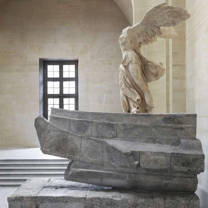 La «Victoire de Samothrace» restaurée.