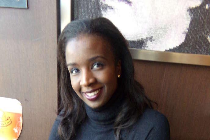 Nafissatou Dia Diouf, en février à Paris.