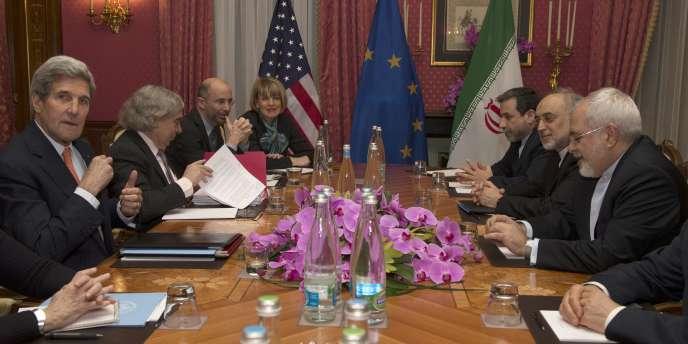 Négociations sur le nucléaire iranien.
