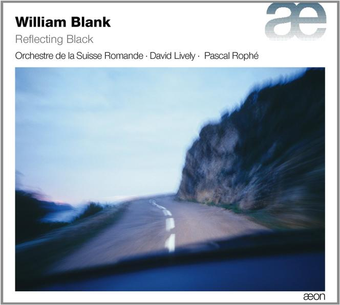 Pochette de l'album « Reflecting Black », recueil de compositions de William Blank.