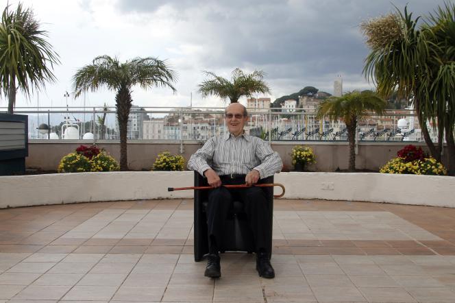 Le cinéaste portugais Manoel de Oliveira à Cannes, en mai 2010.