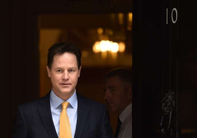 Nick Clegg, en mars 2015.