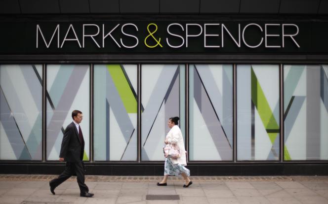 Magasin Marks & Spencer dans le nord-ouest de Londres; en juillet 2014.