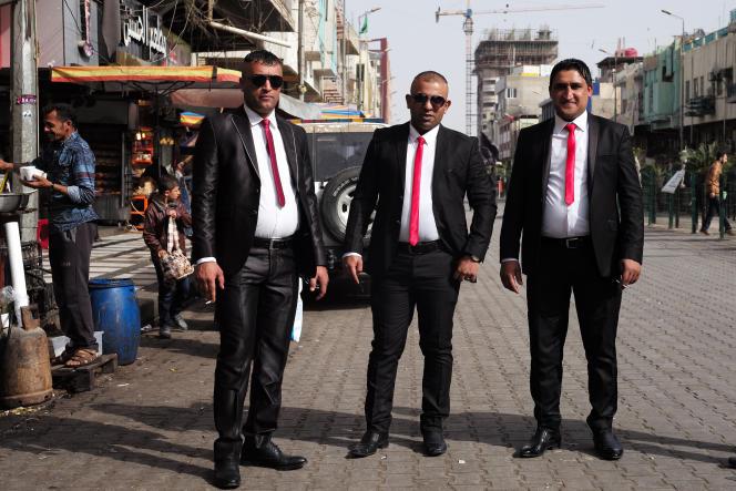 Ces trois hommes viennent prier à la mosquée Al-Kadamya, visé par plusieurs attentats (quartier chiite Kadhamya).