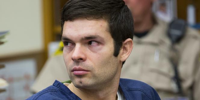 Kevin Christopher Bollaert, ici devant un tribunal de San Diego, a créé en décembre 2012 une page sur laquelle il a publié des photos explicites sans le consentement des personnes qui y figuraient.