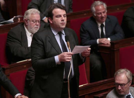 Thierry Solère à l'Assemblée nationale, le 5 novembre 2013.