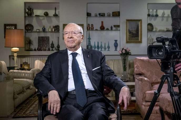Béji Caid Essebsi, à Tunis, le 22 décembre 2014.