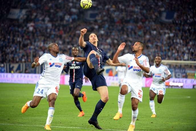 Le PSG a remporté (3-2) son septième clasico consécutif face à l'OM, dimanche, au Stade Vélodrome.