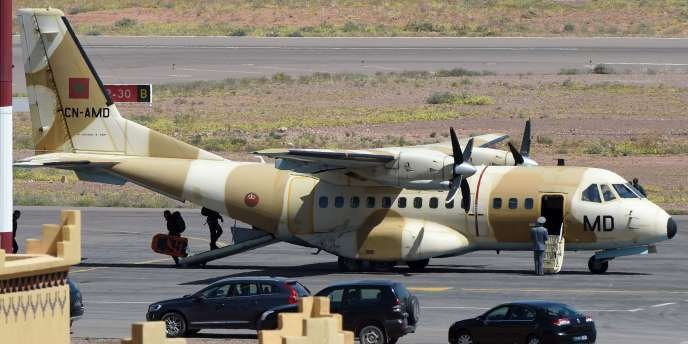 Des avions militaires ont été envoyés pour participer aux opérations de secours des trois spéléologues accidentés dans l'Atlas marocain.