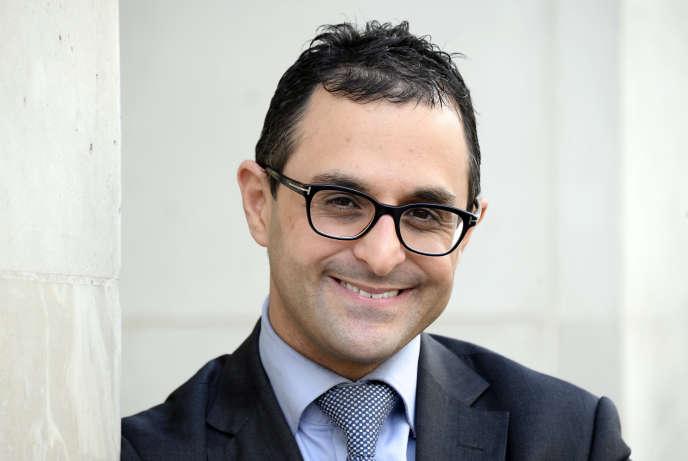 Arash Derambarsh, à Paris, le 23 février.