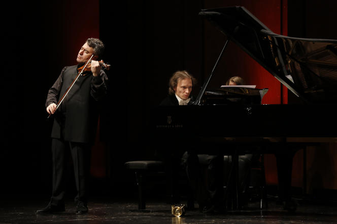 Maxim Vengerov et Roustem Saïtkoulov en concert au Festival de Pâques d'Aix-en-Provence.