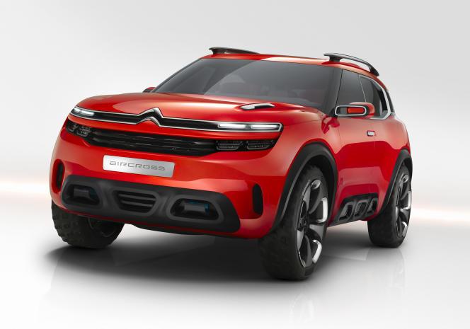Le nouveau concept car CS 15 présenté le 8 avril.