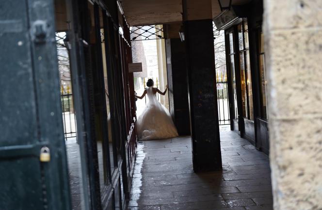 Lors d'un mariage, à Paris, le 14 février (photo d'illustration).